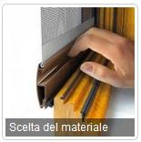 Scelta del materiale